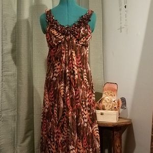 Cynthia Rowley hi-lo maxi dress